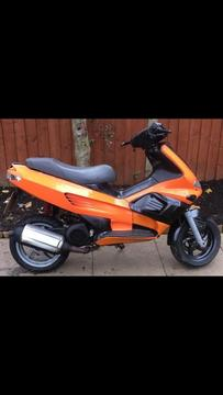 Gilera runner 125cc reg as 50cc