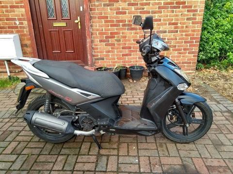 2011 Kymco Agility City 125 scooter, new 1 year MOT, runs very well, good condition, ride away,,