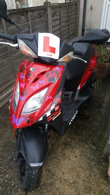 Kymco DJ50. Under a year old. Full service history