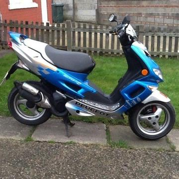 Peugeot speedfight (2) 50cc scooter, may deliver