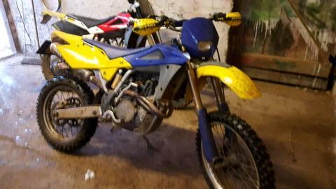 Husqvana 250 te stolen