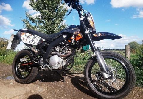 Supermotard 125cc Ajs Jsm 125