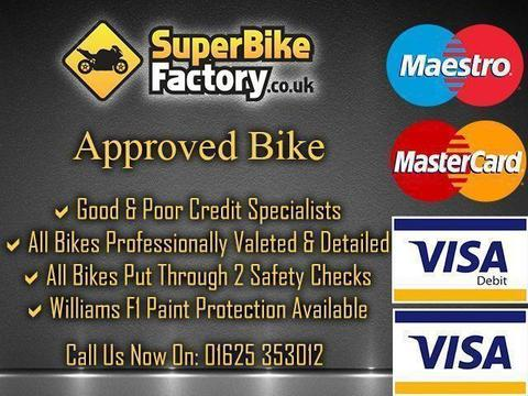 2013 63 DUCATI 1199 PANIGALE ABS 1199CC 0% DEPOSIT FINANCE AVAILABLE
