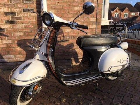 AJS 125 Modena (64 plate) Scooter - 3,300 Miles - Great Condition, Good Runner