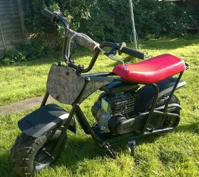 Monster moto usa mini bike swaps
