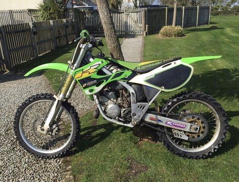 KAWASAKI Kx125 125cc Motocross Dirtbike