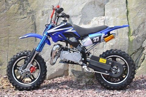 BRAND NEW PIT Dirt bike 2017 Mini ATV Motor Bike Scrambler 49cc Pocket Quad 50cc 2 stroke moto