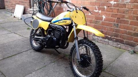 suzuki rm50 1970 dirtbike scrambler